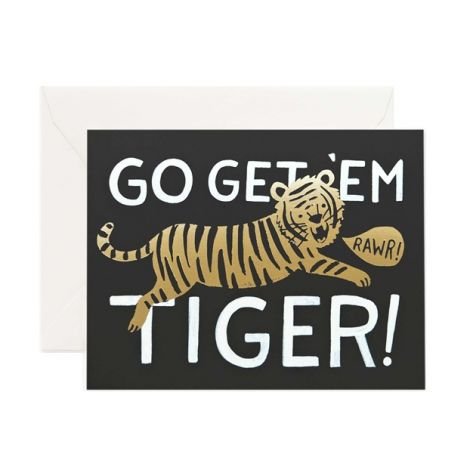 GO GET EM TIGER, BY RIFLE PAPER CO.