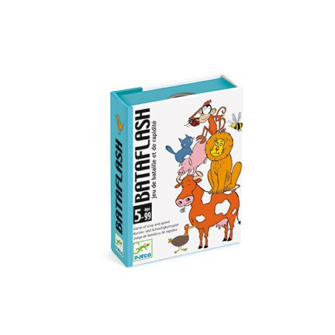 BATAFLASH SPEED & OBSERVATION CARD GAME