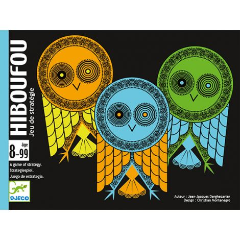 HIBOUFOU VISUAL OBSERVATION CARD GAME