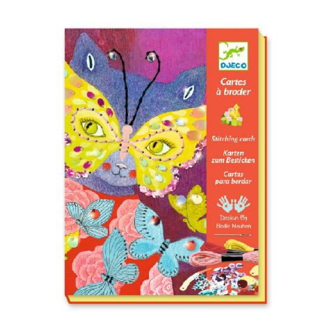STITCHING CARDS WORKSHOP KIT: ELEGANT CARNIVAL