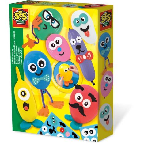 BALLOON FACES ACTIVITY SET
