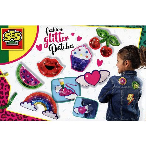 MAKE-YOUR-OWN SELF-ADHESIVE SEQUIN PATCHES ACTIVITY SET