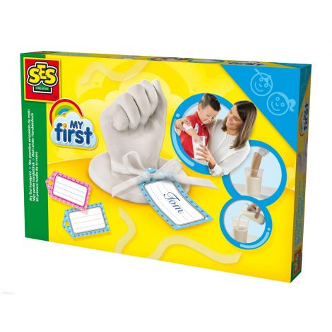 MY FIRST HANDPRINT PLASTER CASTING SET