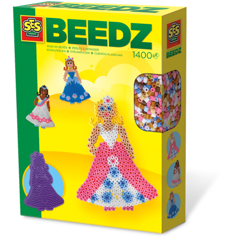 IRON-ON BEADS ACTIVITY SET: PRINCESS