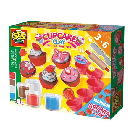 CUPCAKES SUPER CLAY SET