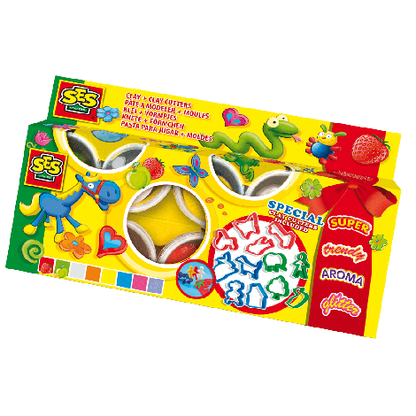 CLAYMANIA CLAY+CLAYCUTTER SET