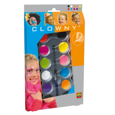 AQUA FACE PAINTS: TRENDY