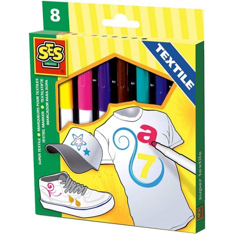 TEXTILE MARKERS SET OF 8
