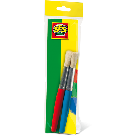 PAIR OF JUMBO PAINT BRUSHES