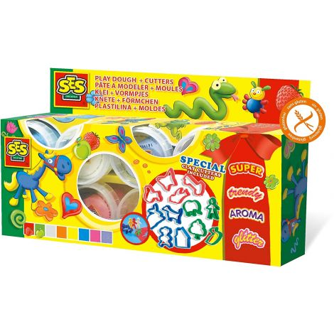 CLAYMANIA CLAY DOUGH + DOUGH CUTTER SET