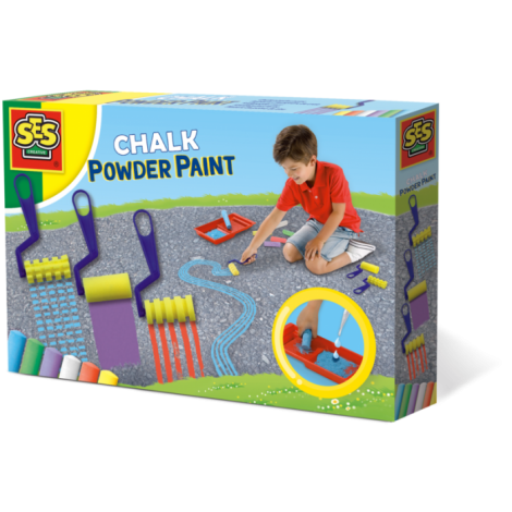 CHALK POWDER PAINTING ACTIVITY SET