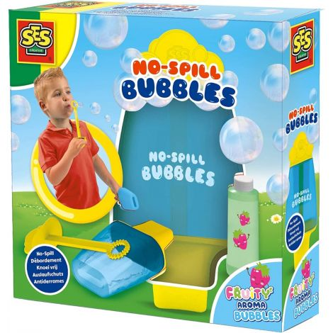 NO-SPILL BUBBLE BLOWER SET