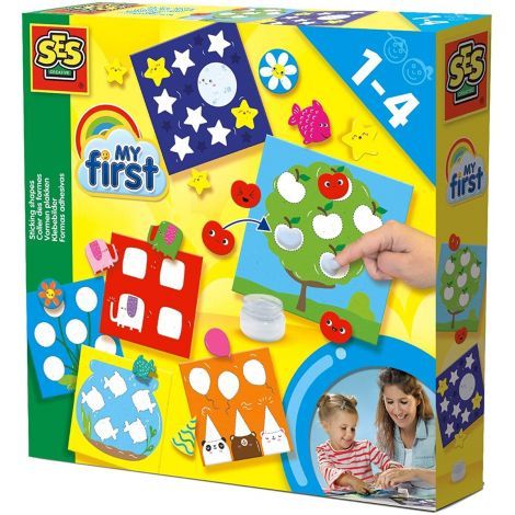 MY FIRST STICKING SHAPES ACTIVITY SET