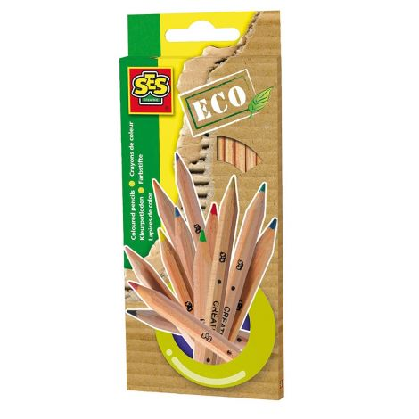 ECO COLOUR PENCILS, SET OF 12