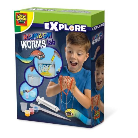 RAINBOW WORMS LAB STEM EXPERIMENT KIT
