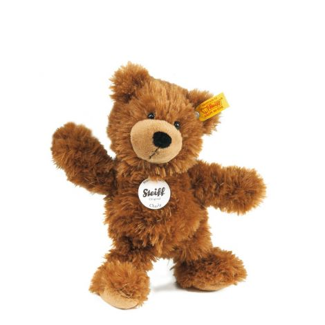 CHARLY DANGLING TEDDY BEAR, BROWN (23CM)