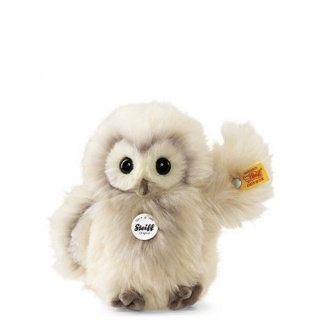 WITTIE OWL PLUSH, CREAM (14CM)