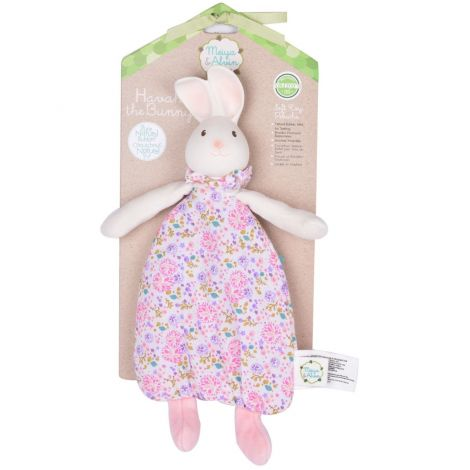 HAVAH BUNNY SNUGGLY COMFORTER PLUSH