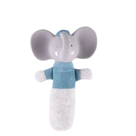 ALVIN ELEPHANT FABRIC SQUEAKER RATTLE STICK