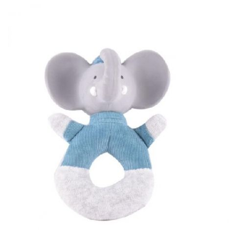 ALVIN ELEPHANT FABRIC RING RATTLE