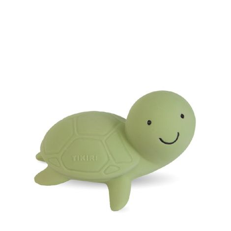 MY FIRST OCEAN BUDDIES: TURTLE PURE NATURAL RUBBER TEETHER