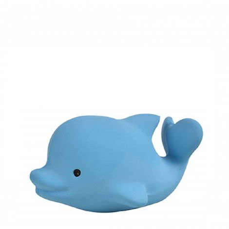 MY FIRST OCEAN BUDDIES: DOLPHIN PURE NATURAL RUBBER TEETHER