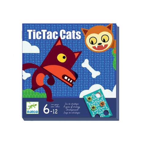 TIC TAC CATS BOARD GAME