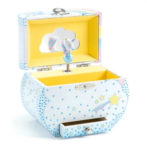 UNICORN'S DREAM SILHOUETTE MUSIC BOX