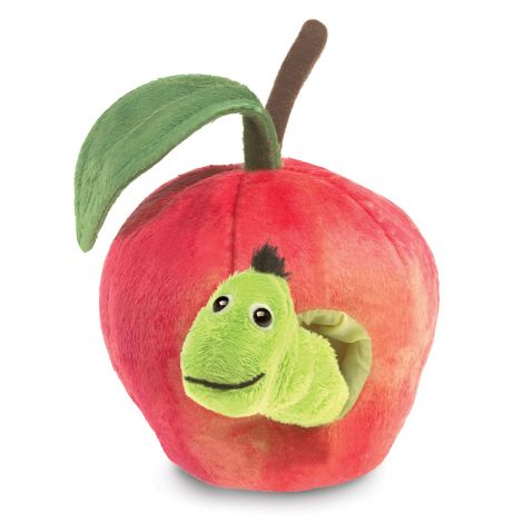 WORM IN APPLE HAND PUPPET