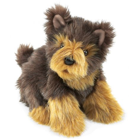 YORKIE PUP HAND PUPPET
